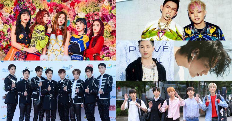 7月回归阵容太精彩了!除了有SM、YG、JYP的艺人外,还有音源强盗的他们啊!