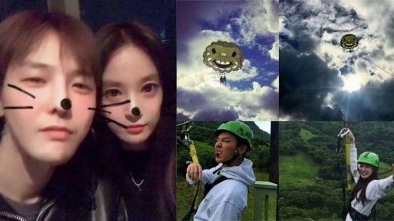 GD与李珠妍恋爱说?YG:只是很多朋友一起出去玩的照片,两人没有关系!