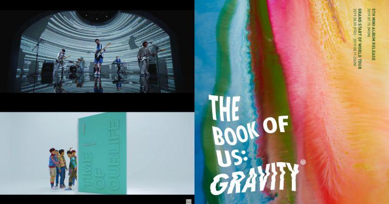 DAY6 创出道以来最佳成绩 〈The Book of Us : Gravity〉甫发行便攻占排行榜首!