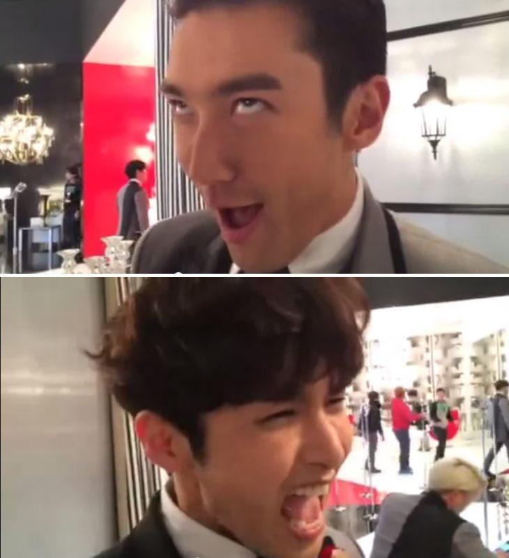 super junior m综艺_Super Junior厉旭、始源的高音对决 令众人爆笑 - KSD 韩星网 (KPOP)