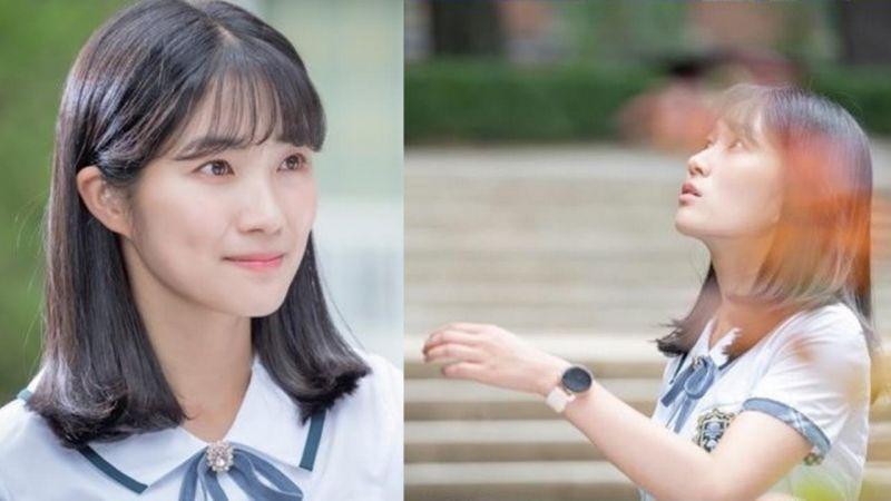 集合5位花美男的校园爱情新剧《意外发现的一天》首发女主金惠允剧照!