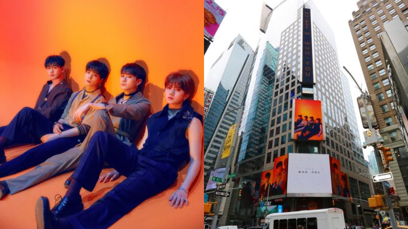 NU'EST W 回歸前夕送感人大禮!與 L.O.Λ.E 間的點滴回憶躍上紐約時代廣場