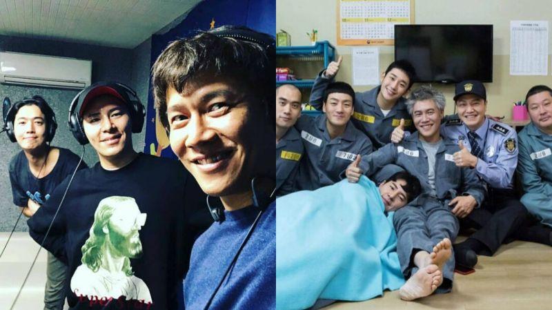 《機智牢房生活》鄭敬淏、李奎炯、朴浩山再聚!是在錄音嗎?