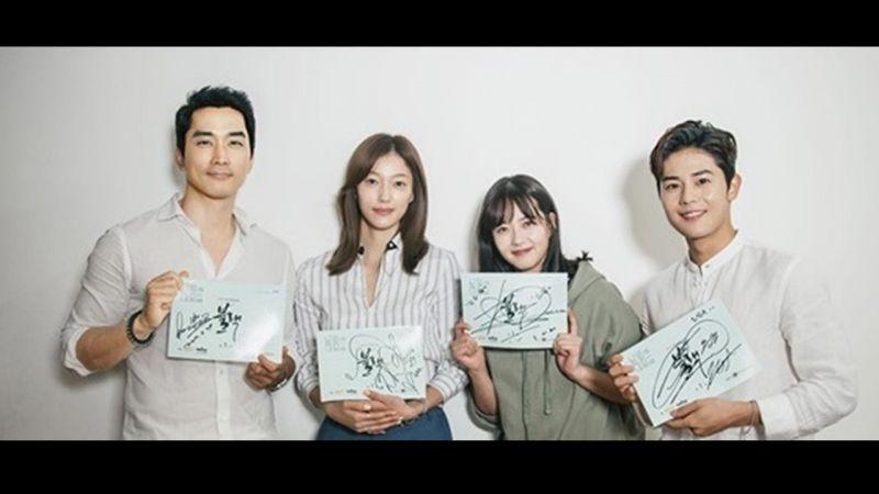 OCN新剧《Black》主演齐聚读本宋承宪、高雅罗、李伊、金桐俊全新组合引观众期待~!