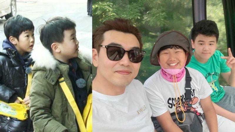 《爸爸!我们去哪里?》李钟赫带著俊秀、尹厚一起去游乐园!两人也已经是7年好友了呢!