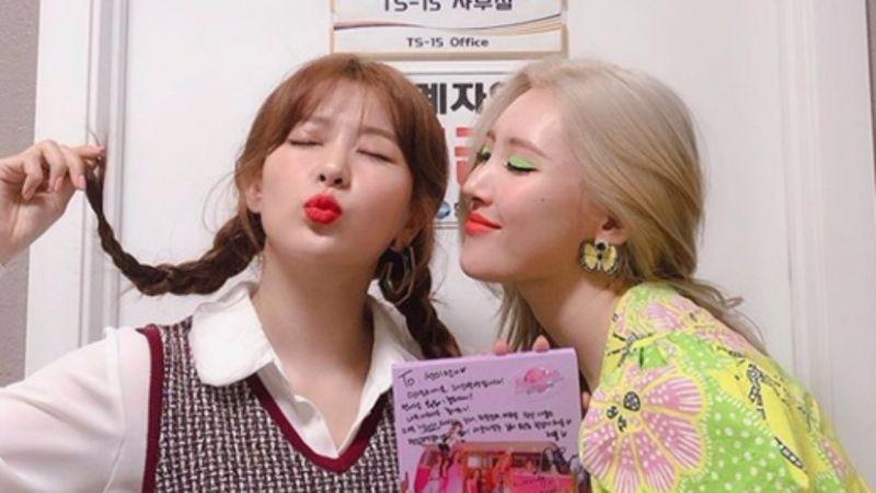 宣美、Seulgi拍雜誌畫報穿同款,四舍五入是「秘密姐姐」的糖XD