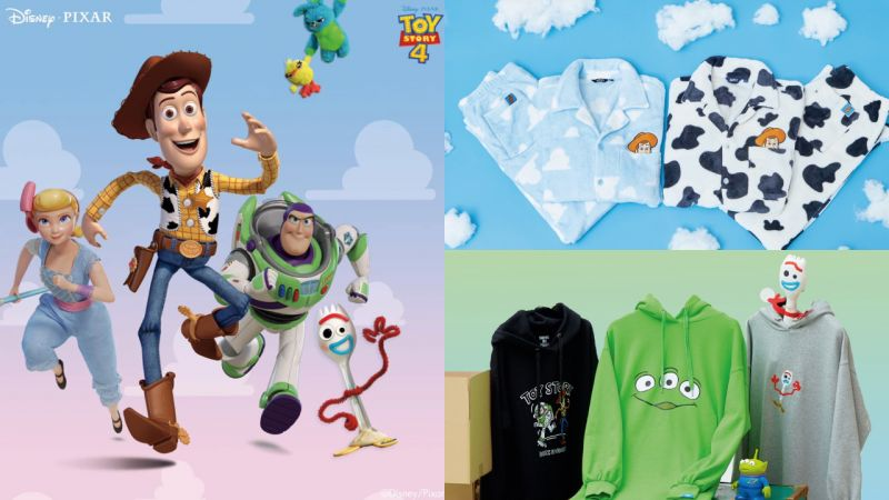 完售準備 SPAO推出玩具總動員的睡衣