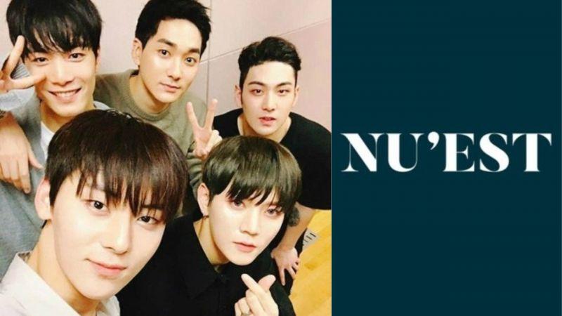 继续走花路吧!NU'EST 5名成员已和Pledis娱乐完成续约,期待完整体回归!