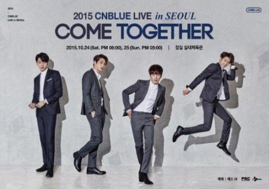 CNBLUE回歸、開唱並行 《Come Together》登場在即