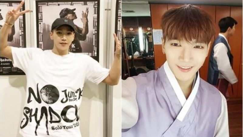 2PM Jun.K新兵训练途中面部麻痹 4月曾做下颌手术 JYP回应:只是肩痛