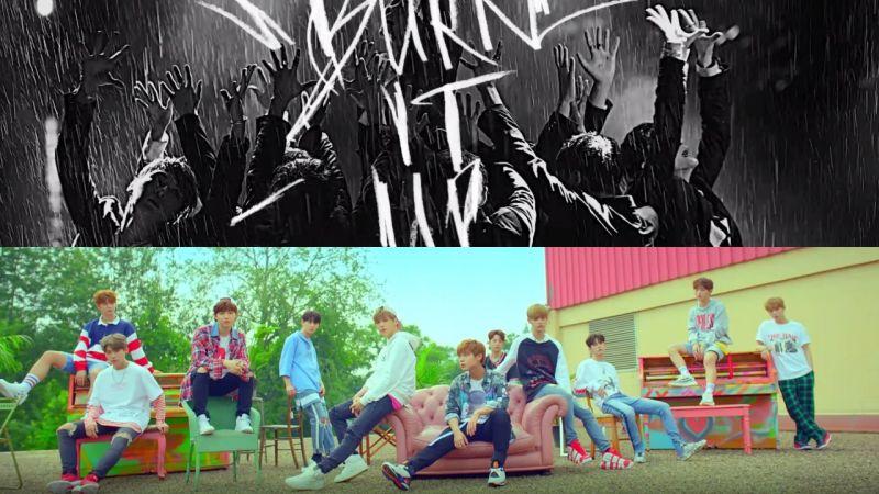 Wanna One出道MV预告片公开!两个版本都超级帅啊!!