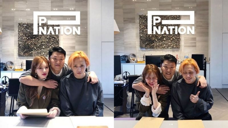 泫雅、E'Dawn离开CUBE后与PSY的公司「P NATION」签约!和Jessi成为同门