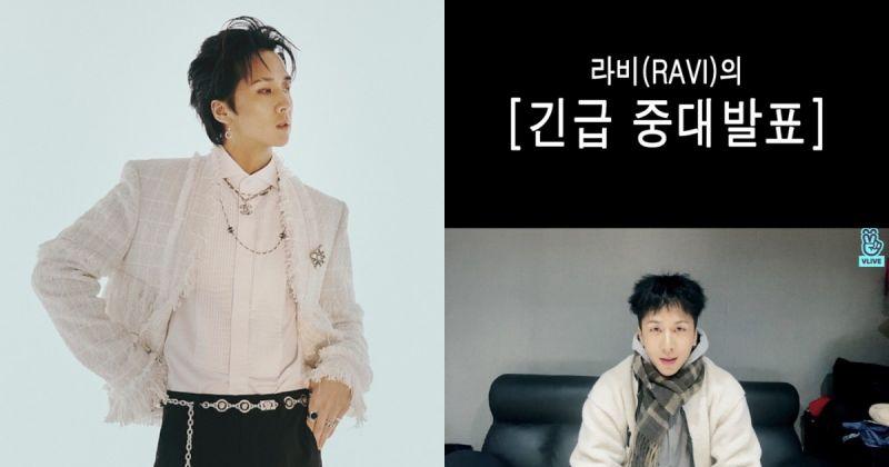 Ravi 2 月回歸 首張正規專輯、打歌行程、世巡接力來襲!