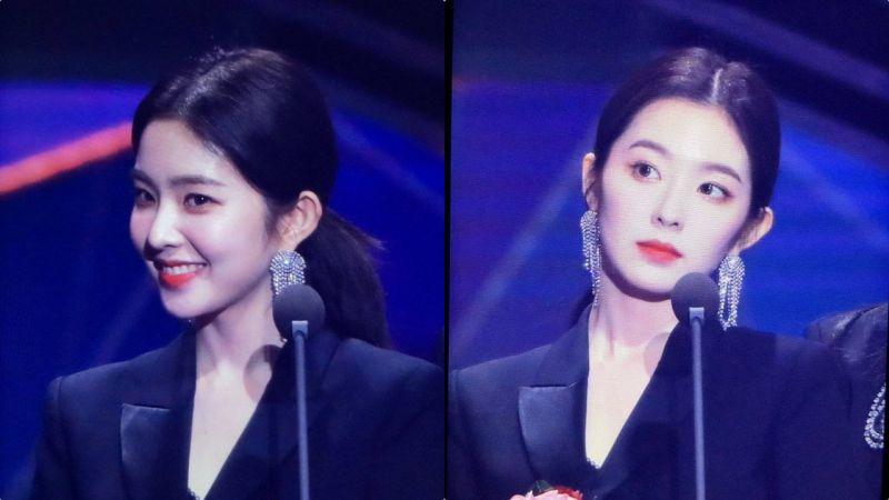 昨晚參加「首爾歌謠大賞」的不是Irene而是裴總裁,攻氣太強粉絲直呼受不了
