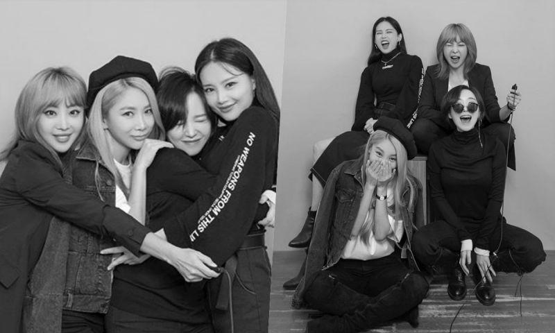 Brown Eyed Girls开设IG账号 正式启动回归进程!
