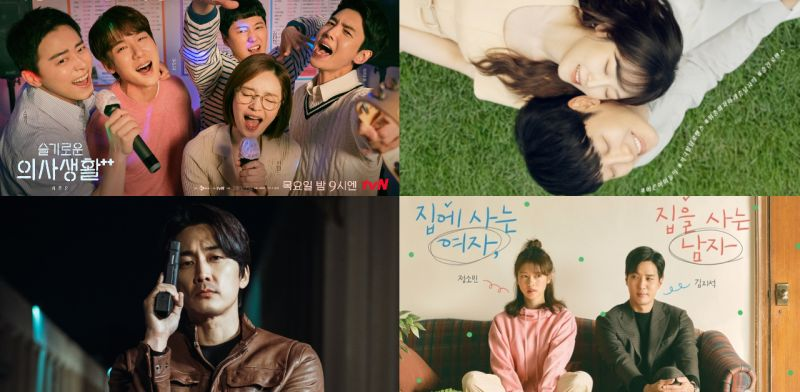 【KSD評分】由韓星網讀者評分:這星期平均分都下滑,而《月刊家》終於來到TOP 4呢!