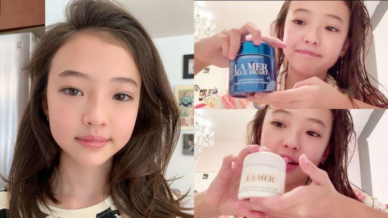 年仅11岁已经用高端贵价品,YG厂牌小公主Ella Gross亲自揭晓护肤routine!