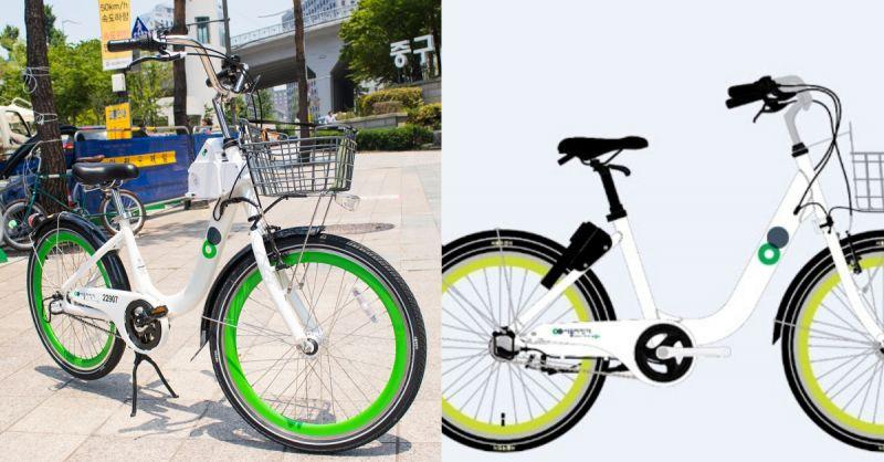 首尔市公共脚踏车推出小型版叮铃铃,方便青少年与老人使用!