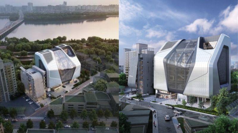 YG开始搬迁至耗时8年建成的新大楼!室内面积达6000坪,还计划设置粉丝们的空间!
