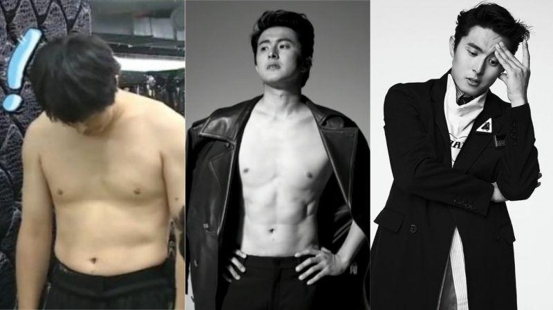 【有片】只有想不想、沒有做不到!旗安84為拍畫報健身半個月 成果震驚全韓網