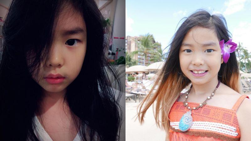 Haru暴風成長! 翻翻近照,原來7歲的她已經變成小淑女了!