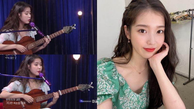 IU在《柳熙烈的寫生簿》舉行迷你演唱會...節目收視漲三倍!她還演唱未公開的自作曲,聲音真的太治癒了!