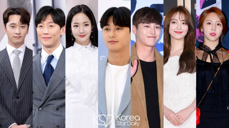 tvN新劇《金秘書為何那樣》朴敘俊、朴敏英領銜主演!出演陣容全數公開