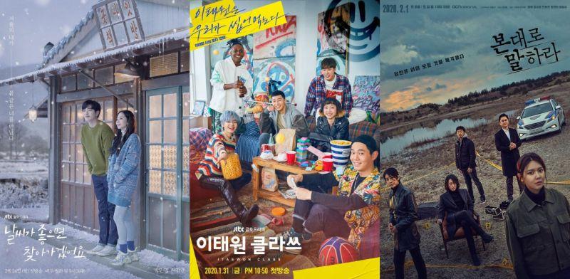 【KSD评分】由韩星网读者评分:《天气好的话》三月连续三周第一~《梨泰院CLASS》今晚大结局!