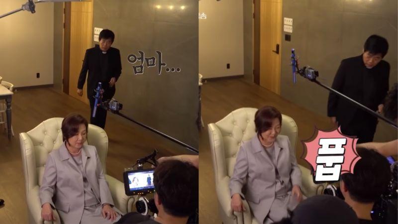 《机智医生生活》拍摄花絮!「大儿子」成东镒叫金海淑「妈妈」让她直接笑场,两人实际上才差9岁!