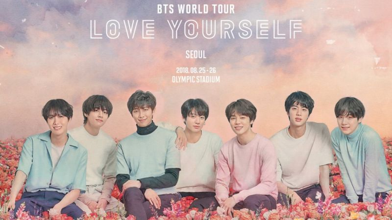 防彈少年團《LOVE YOURSELF》巡演日程首波公開! 北美&歐洲22場確定