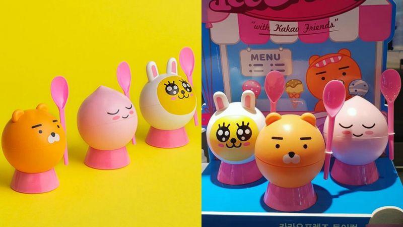 Kakao Friends X 韓國BR化身「冰淇淋玩具杯」,吃完還能當收藏品!