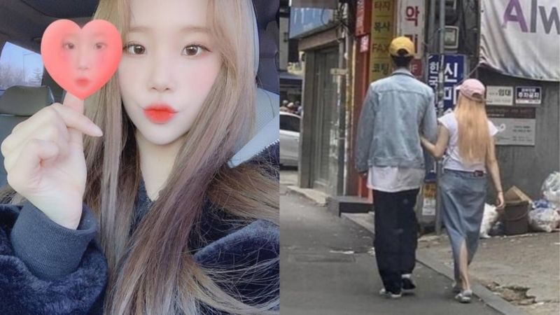 MOMOLAND成员JooE被目击与一名男性挽著手逛街!所属社回应:「两人只是普通朋友的关系!」
