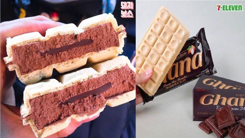 MONAKA巧克力夾心雪糕,新上市即引起熱烈討論