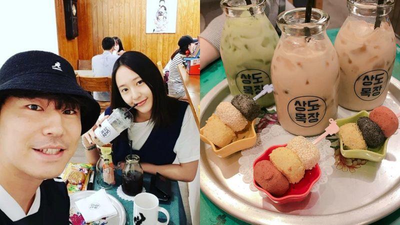 Krystal、韓彩英友情到訪!李施彥的復古風café正式開張啦~