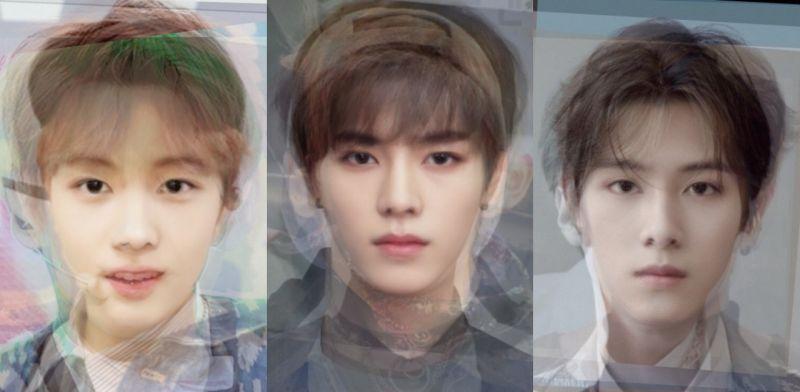 你看到了誰?網友合成NCT各小分隊「平均臉」,真的是美男大集合!
