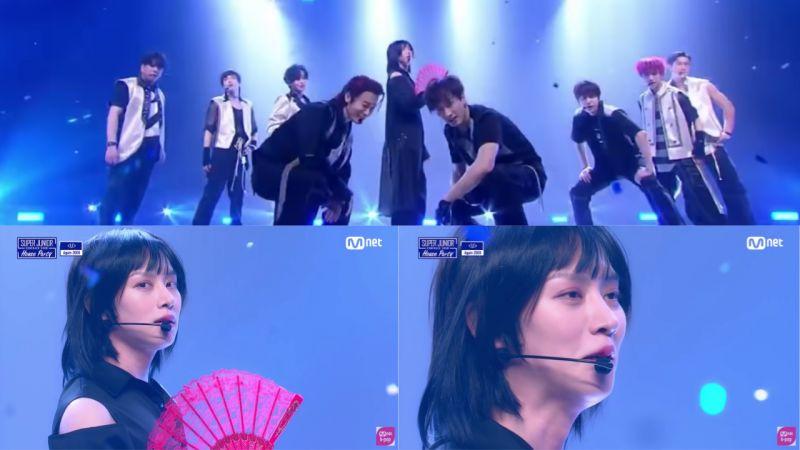 Super Junior 重現15年前的經典歌曲《U》!Ending妖精金希澈:瞳孔地震+忍不住要笑場