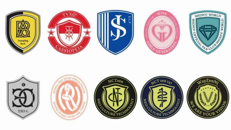 SM最新登錄的粉絲俱樂部新LOGO!韓飯:像足球隊徽,但怎麼還少了一團