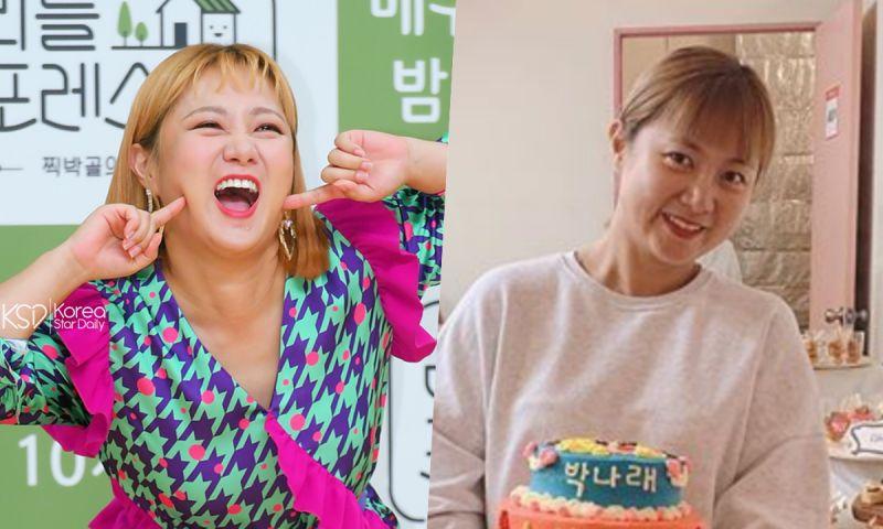 朴娜萊健康恢復今日開工! 錄製MBC《我獨自生活》