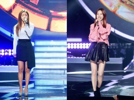 《Duet歌謠祭》EXID率智對戰f(x) Luna 搭檔素人帥哥