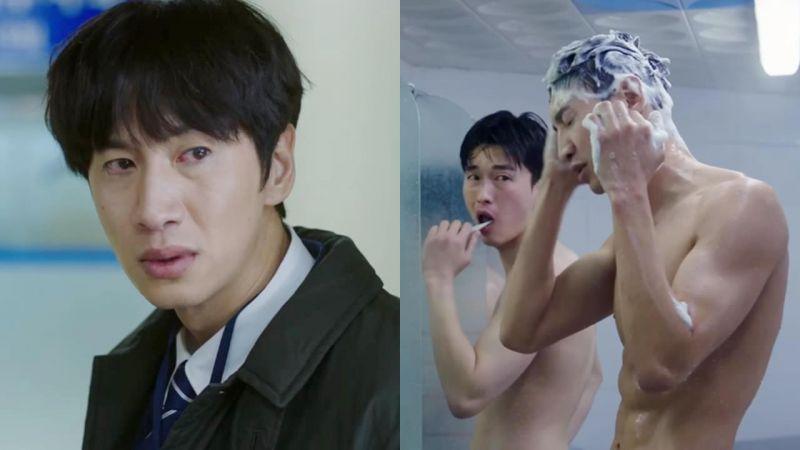 李光洙在新劇《Live》大展結實好身材,腹肌練到像是CG修圖過啊~!