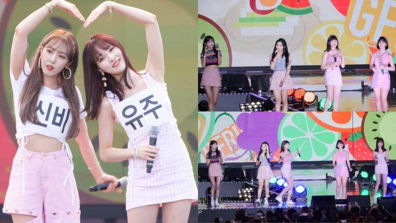 GFRIEND可爱翻唱朴明秀&Jessica的夏日清凉曲《冷面》!