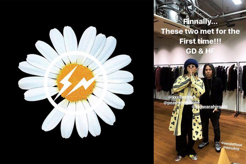 GD與藤原浩的聯名大作:PEACEMINUSONE X FRAGMENT DESIGN