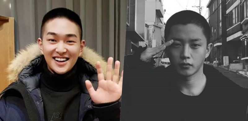 SHINee溫流&演員金玟錫今日入伍! 剪短髮照片+手寫信公開!