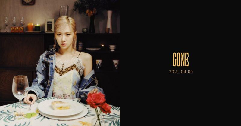 終於等到了!Rosé 下週一公開副主打歌〈Gone〉的 MV
