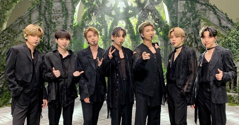 BTS防弹少年团蝉联《Music Bank》六周冠军!成绩仅次於〈Boy with Luv〉