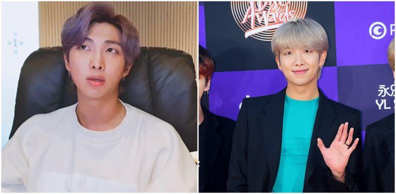 防彈少年團BTS成員RM直播洩心情:委屈又傷心