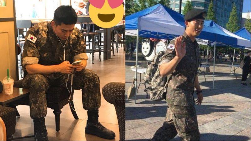 帅气的军人玉泽演近况公开!更加壮硕的身材、宽阔的肩膀吸引大家注意!