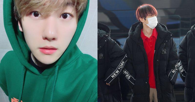 EXO 伯賢給粉絲的溫暖忠告:「先別買專輯,買件大衣吧!」