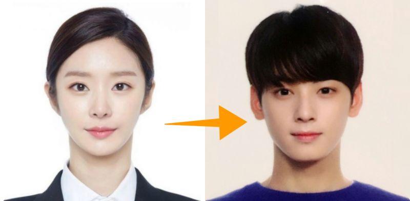 韩国居民证照片新规定:无须露出眉毛、耳朵,与护照一致!