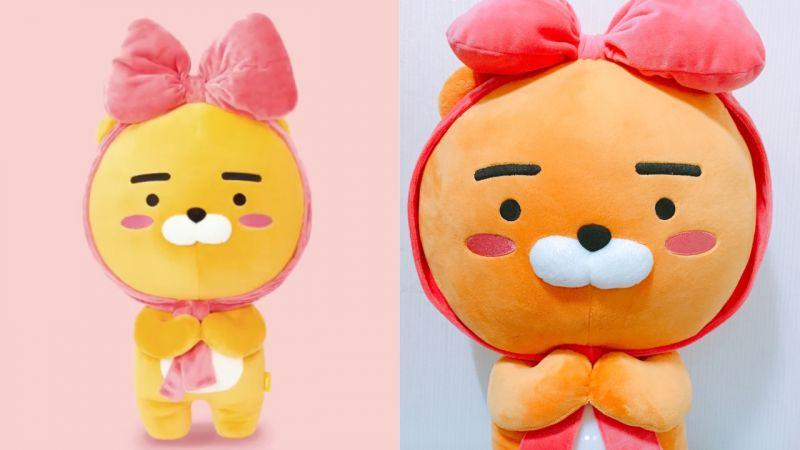 「KAKAO FRIENDS」推出光復節限定款!綁上蝴蝶結的Ryan太萌了啊!